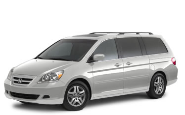 2007 Honda Odyssey EX-L with navigation and dvd