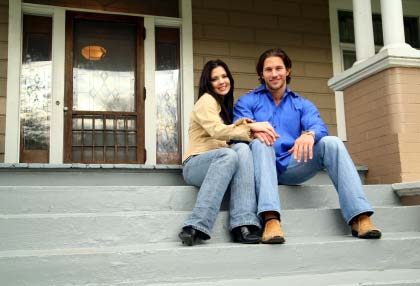 Young couple home buyer