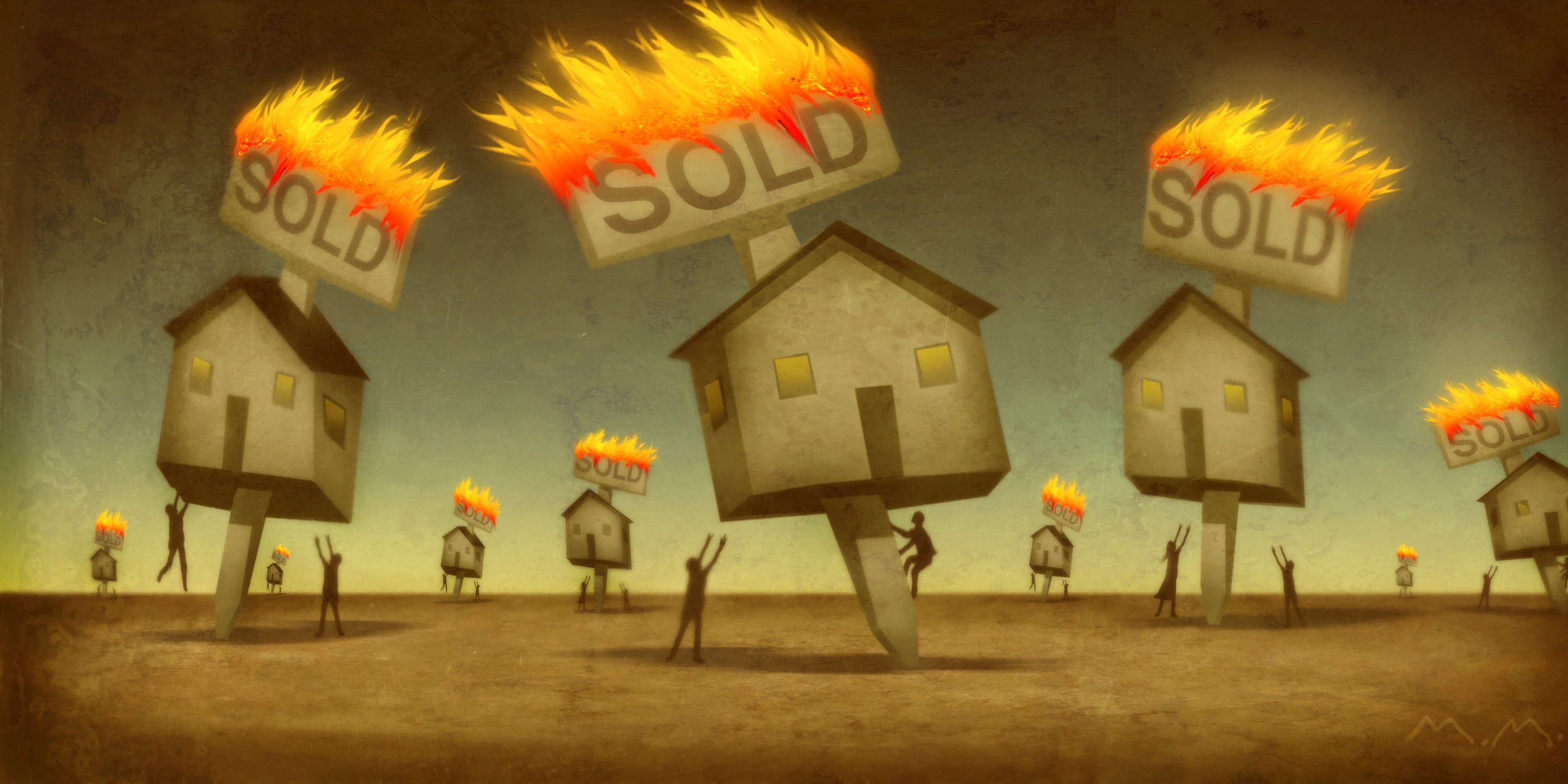 Real Estate Market on Fire