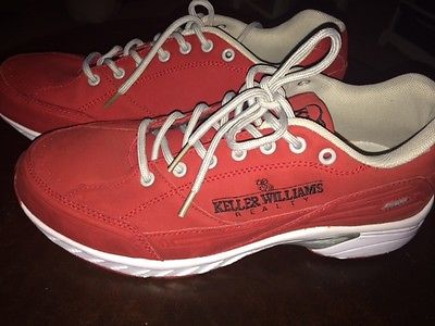 Red Keller Williams sneakers