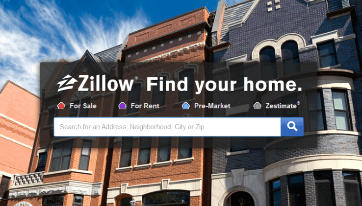 New Real Estate Website - Zillow