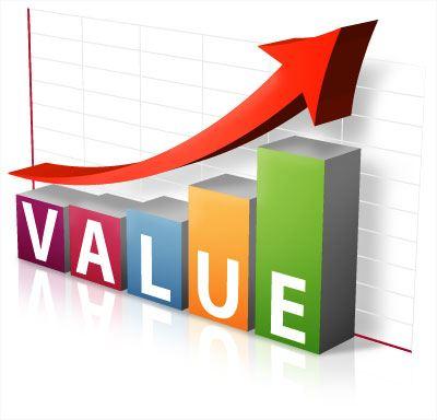 Value rising