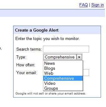 google-alerts-types