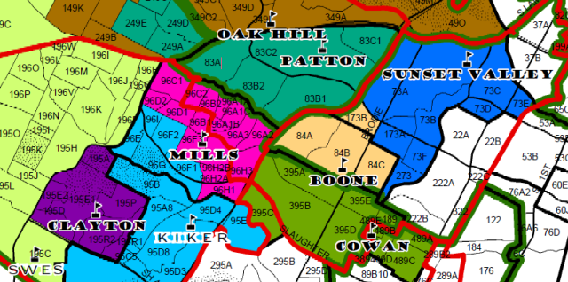 Austin Isd District Map School District Boundary Changes Can Affect Home Values