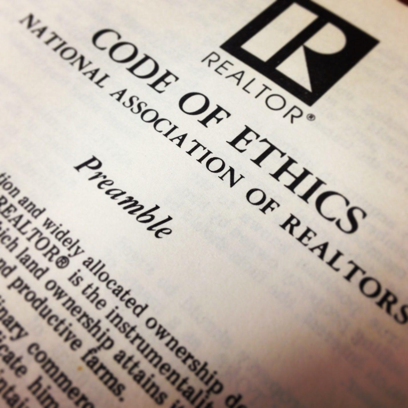 realtor code of ethic