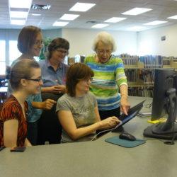 Sylvia Crossland - Westbank Comunity Library Volunteering