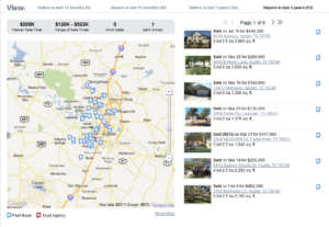 Screen Capture of Redfin Scouting Report for Sylvia Crossland