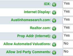 Austin IDX MLS Choices