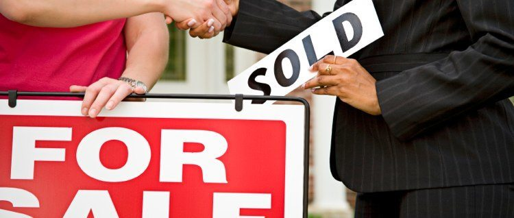 House Sold Sign Photo