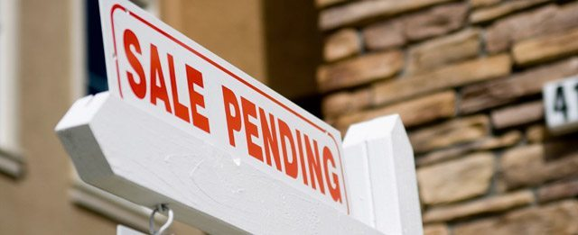 Photo of sale pending sign