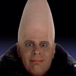 Photo of conehead