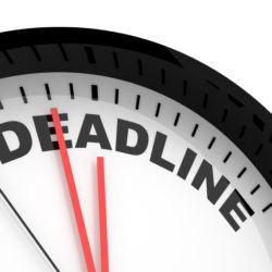 Inspection Deadline