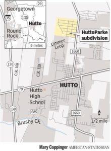 Huttoparke in Hutto TX
